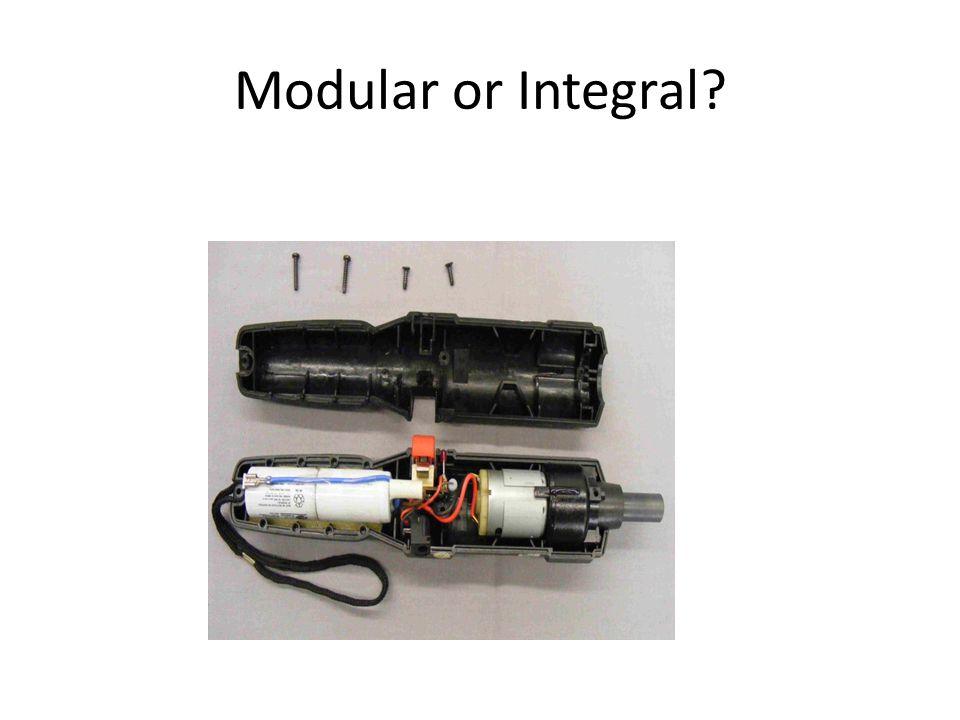 Modular or Integral?