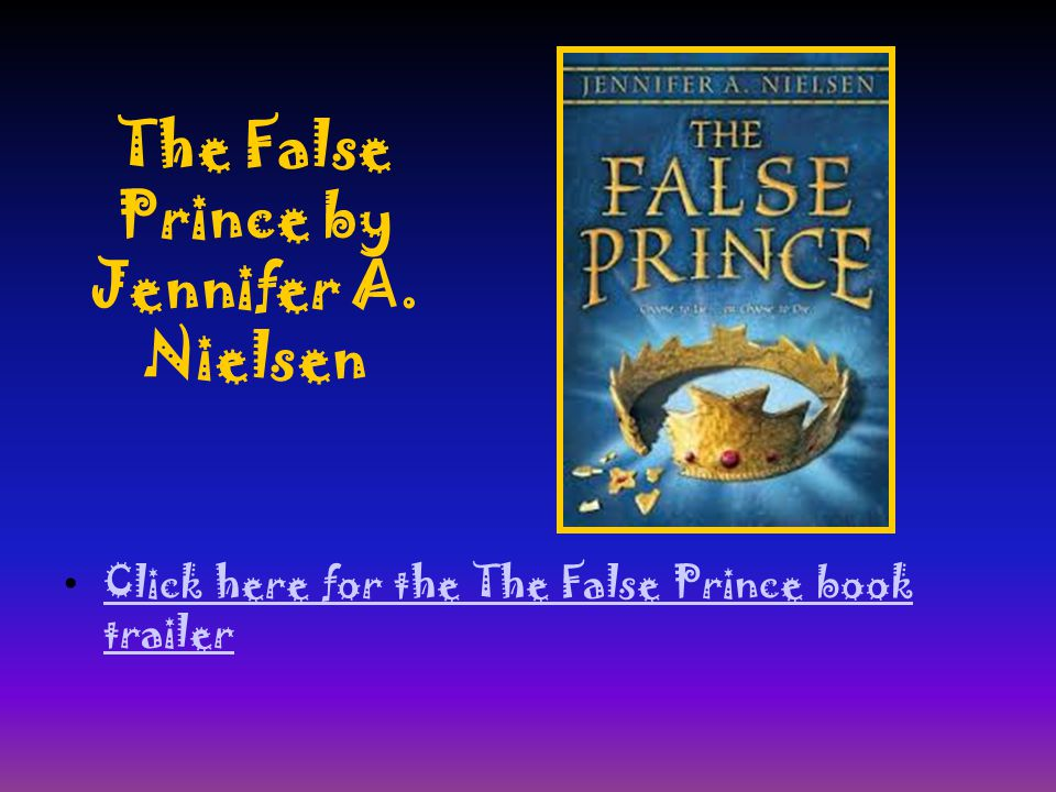 The False Prince by Jennifer A.