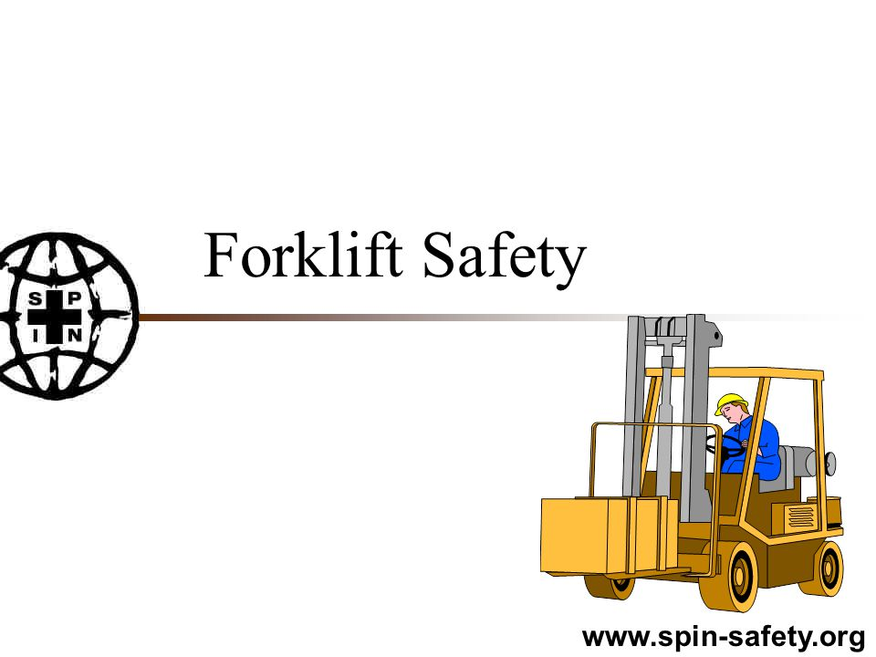 Picking up loads n Never exceed the rated capacity of your unit n Forks must be spaced properly n Be sure the load is stacked properly and is balanced n Secure the load to the pallet n Drive into load as far as possible n Tilt the load back slightly & then lift it n Watch for overhead objects or side objects n Lower load 4 to 6 inches above ground level for travelling