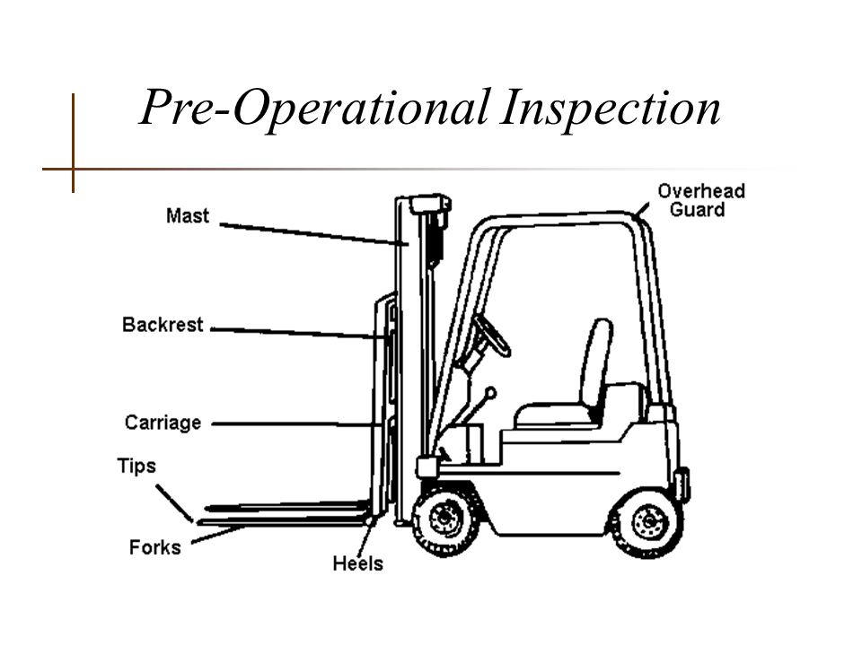 Lift Classifications & Rated Load Capacity n The maximum amount of weight that can be safely lifted.