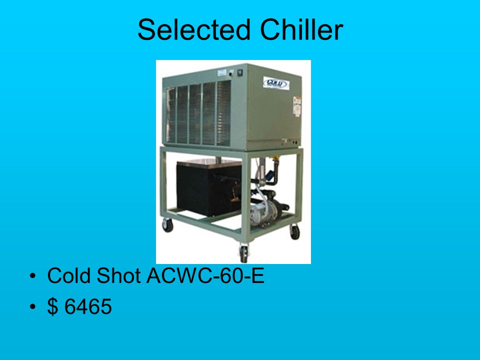 Selected Chiller Cold Shot ACWC-60-E $ 6465