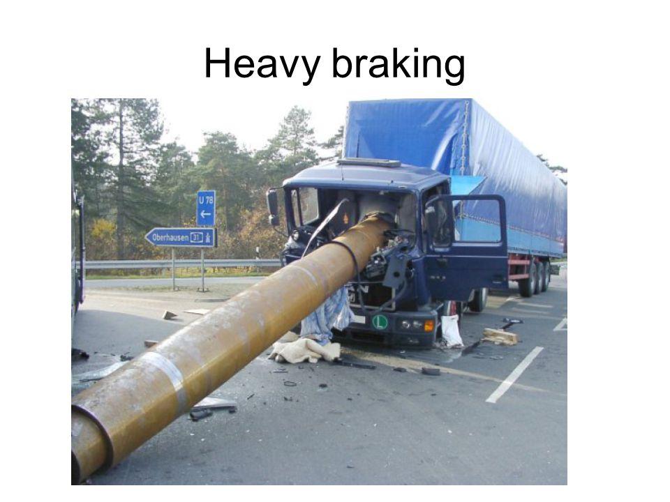Heavy braking