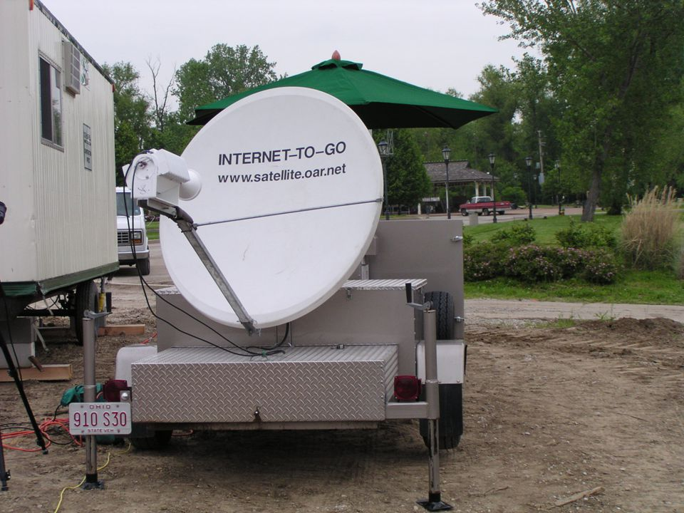 Reliability of the Satellite Trailer The Lewis and Clark Expedition has used it: Every day for 6 months At over 100 different rural locations Over 3500 miles traveled, including rough roads With NO FAILURES PS - They now set it up in 7 minutes, using 2 people.