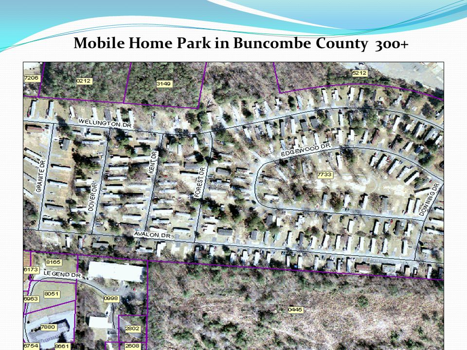 Mobile Home Park in Buncombe County 300+