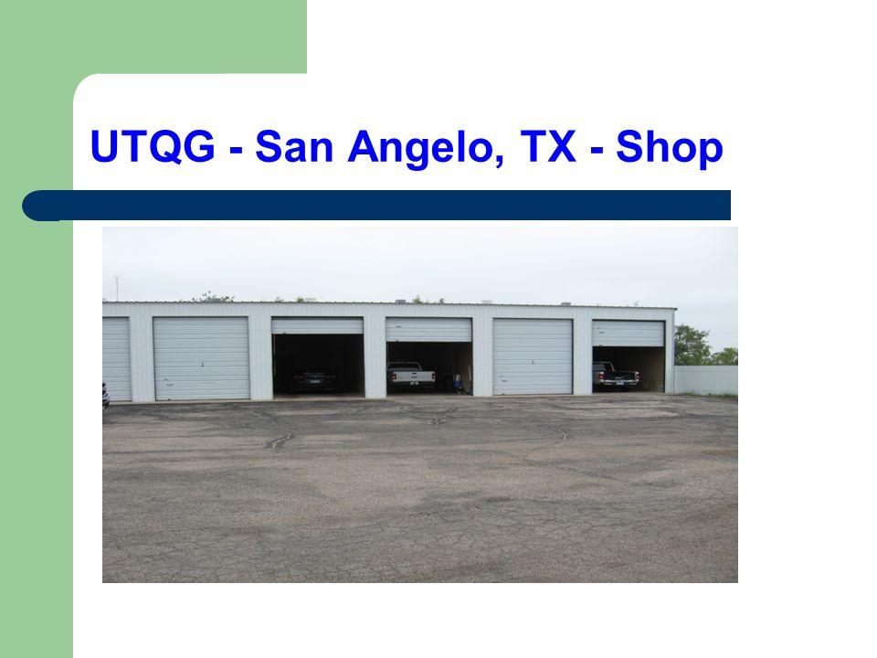 UTQG - San Angelo, TX - Shop