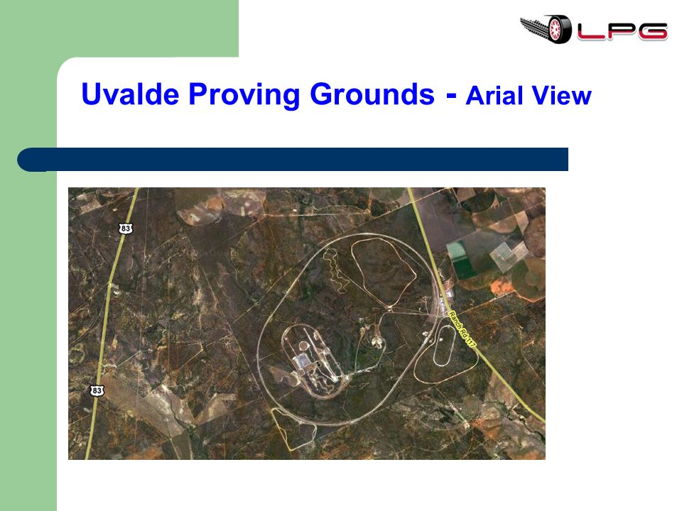 Uvalde Proving Grounds - Arial View