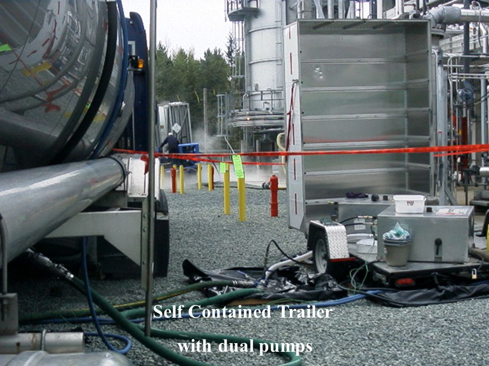 Self Contained Trailer with dual pumps