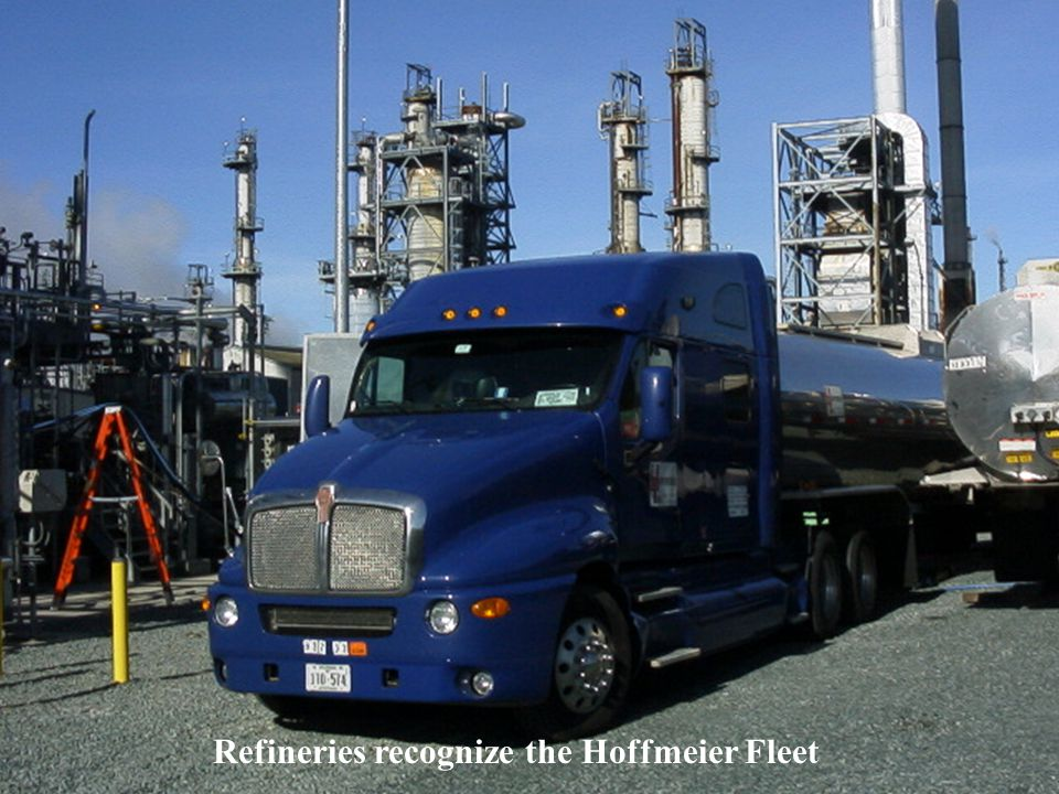 Refineries recognize the Hoffmeier Fleet