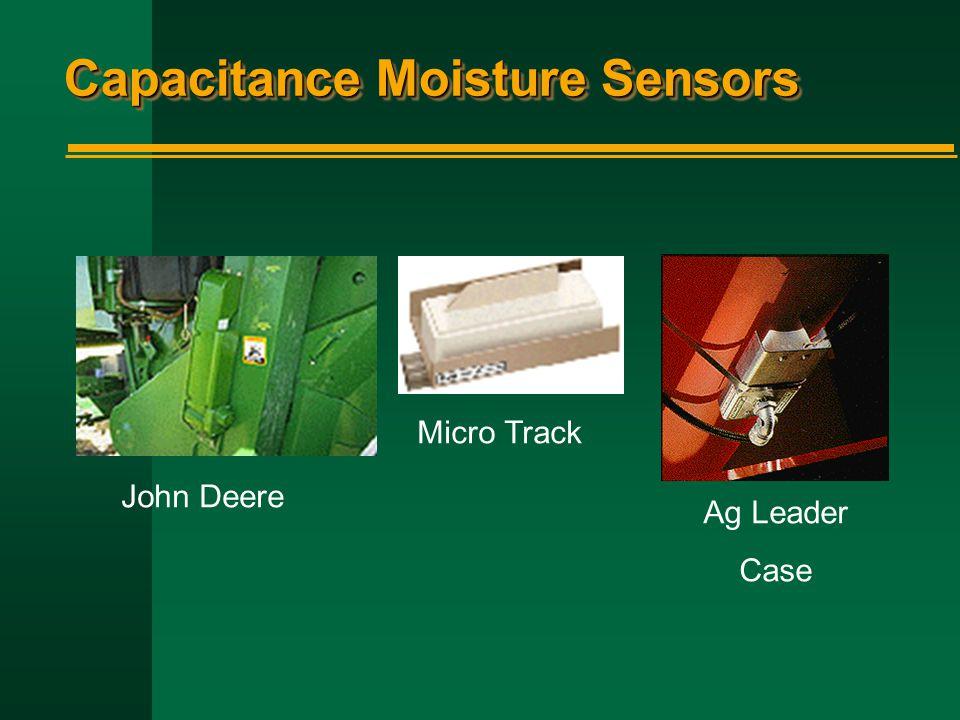 Capacitance Moisture Sensors John Deere Micro Track Ag Leader Case