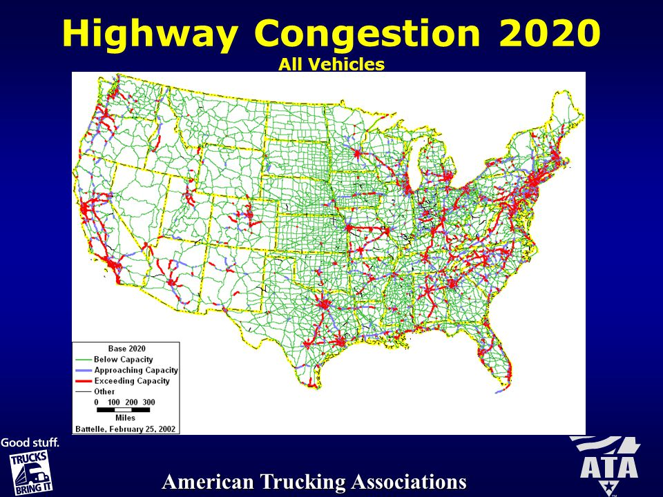 American Trucking Associations Recommendation 5: Support Limited LCV Operations Beyond the Western Uniformity Region Upon Executive Committee approval and on a case-by-case basis, support local, state and regional efforts to improve truck productivity and expand LCV routes that meet appropriate safety standards.