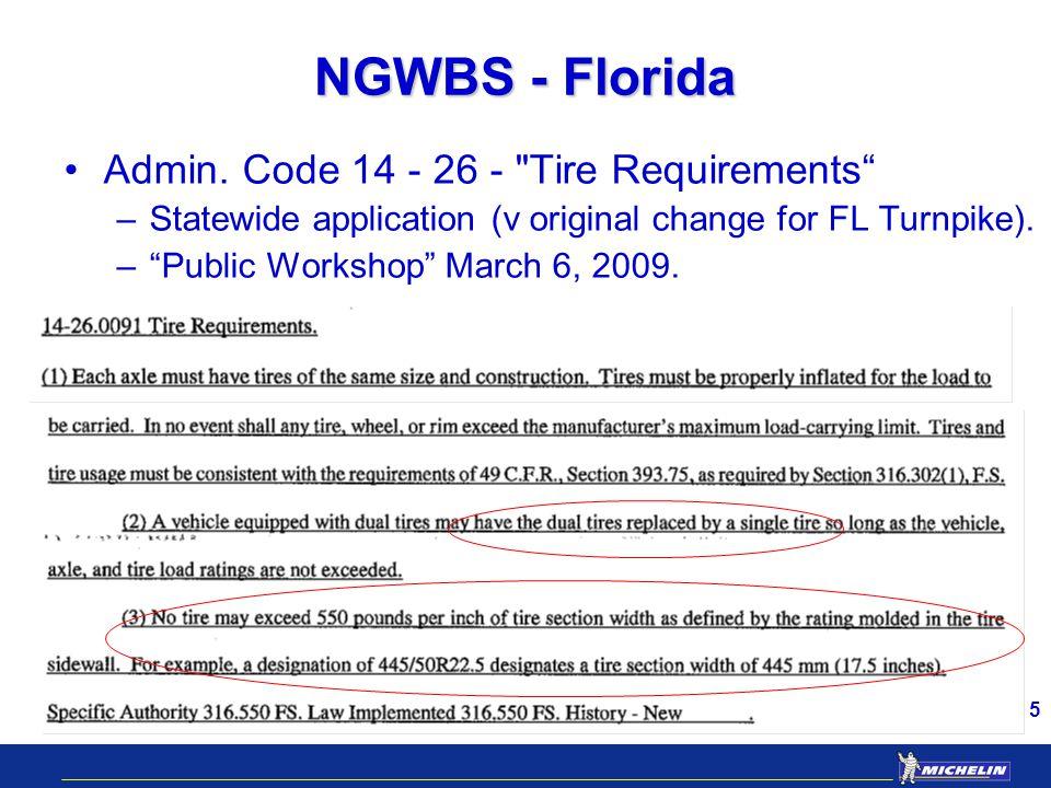 5 NGWBS - Florida Admin.