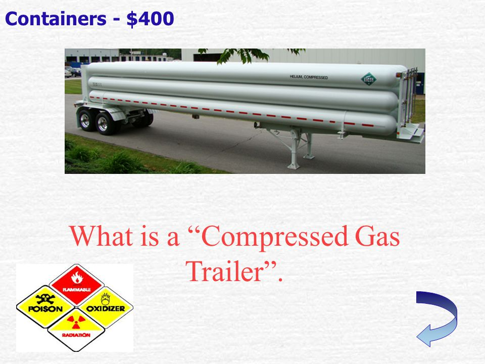 What is a Gasoline Trailer . Containers - $300