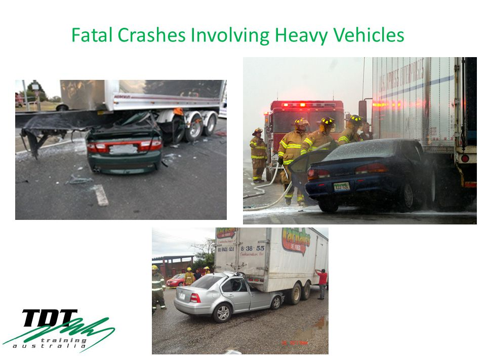 Fatal Crashes Involving Heavy Vehicles