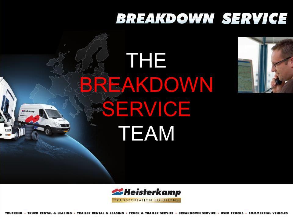 THE BREAKDOWN SERVICE TEAM