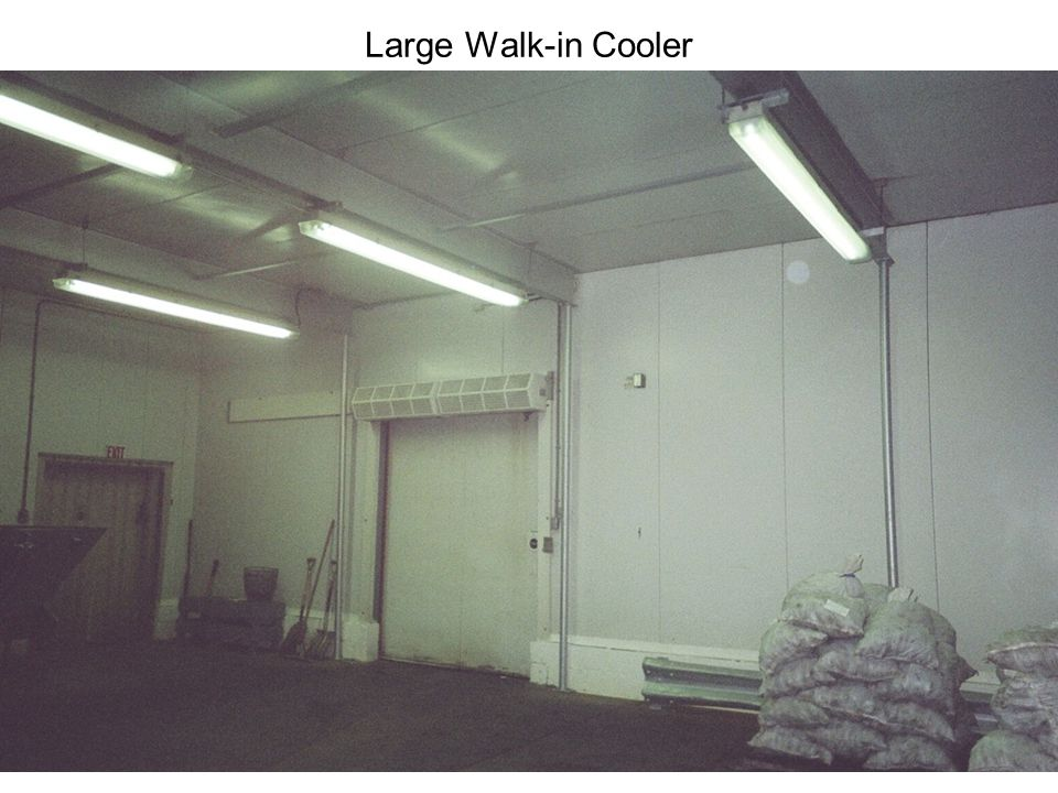 Large Walk-in Cooler