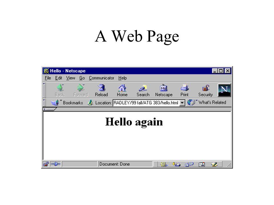 A Web Page