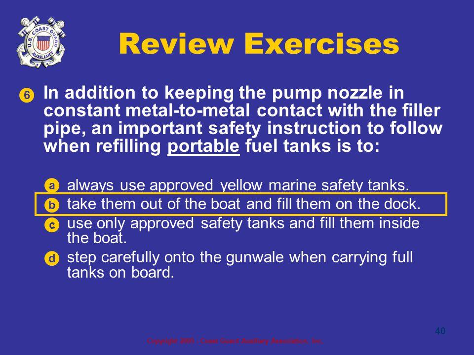 Copyright 2005 - Coast Guard Auxiliary Association, Inc.