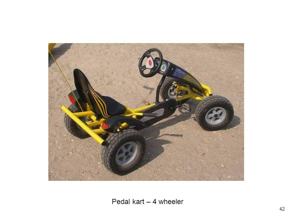 42 Pedal kart – 4 wheeler