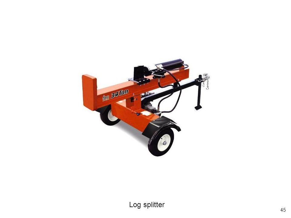 45 Log splitter