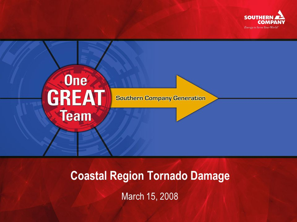 Coastal Region Tornado Damage March 15, 2008