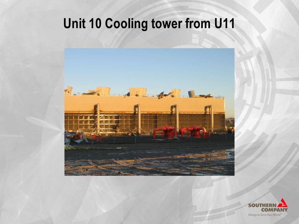 Unit 10 Cooling tower from U11