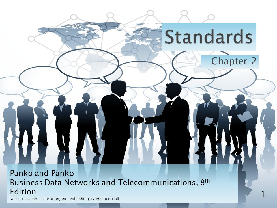  Dominance ◦ At the application layer, many standards come from TCP/IP, but many also come from OSI, the World Wide Web Consortium, and other standards agencies.