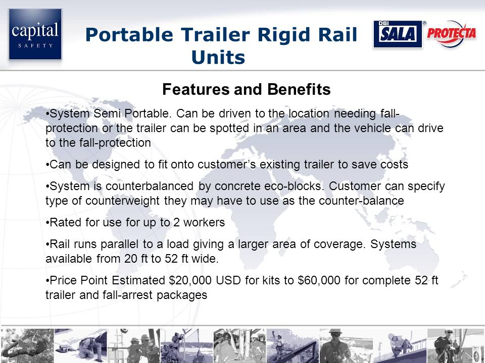 Features and Benefits System Semi Portable.