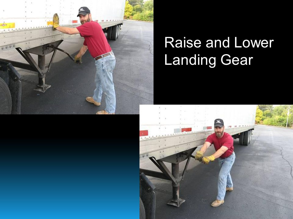 Raise and Lower Landing Gear