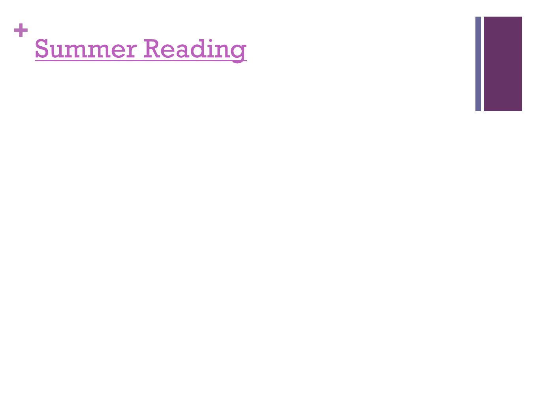 + Summer Reading