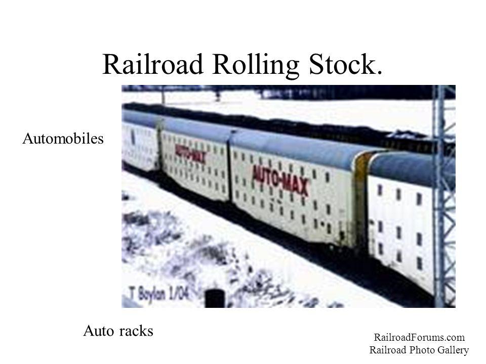Railroad Rolling Stock. RailroadForums.com Railroad Photo Gallery Automobiles Auto racks