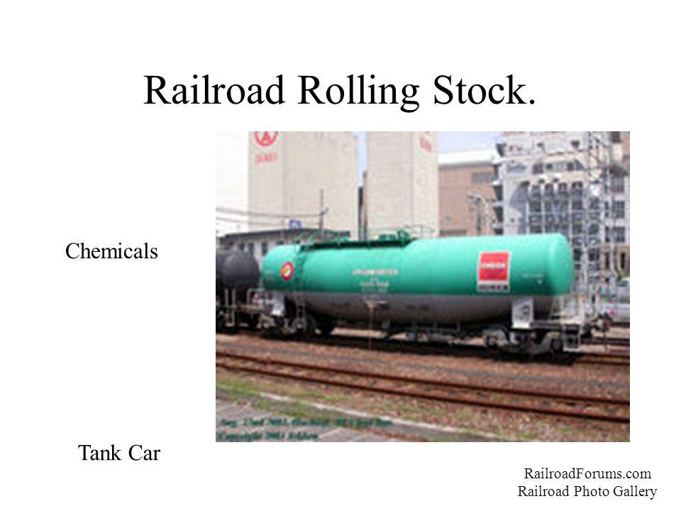 Railroad Rolling Stock. RailroadForums.com Railroad Photo Gallery Chemicals Tank Car