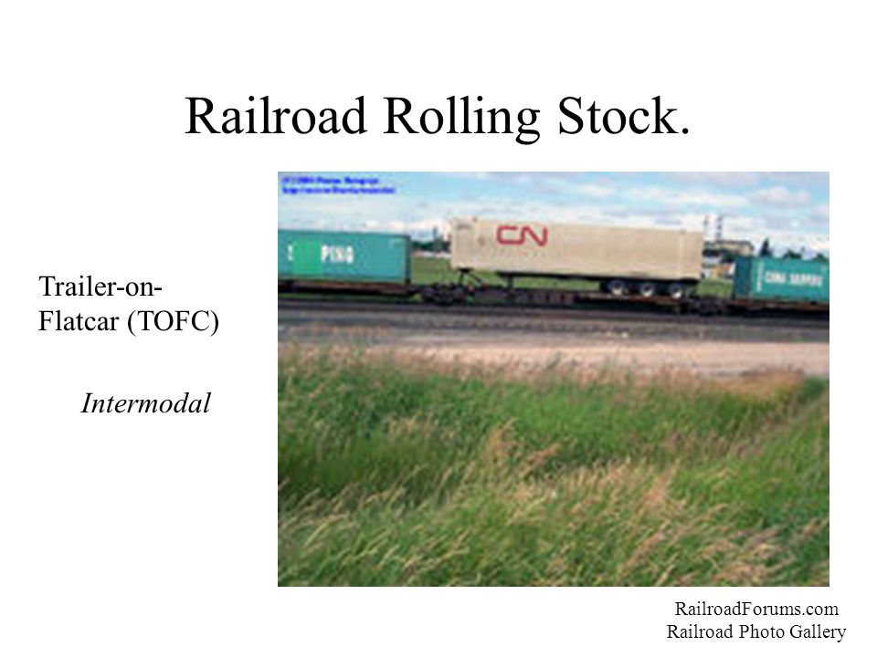 Railroad Rolling Stock.