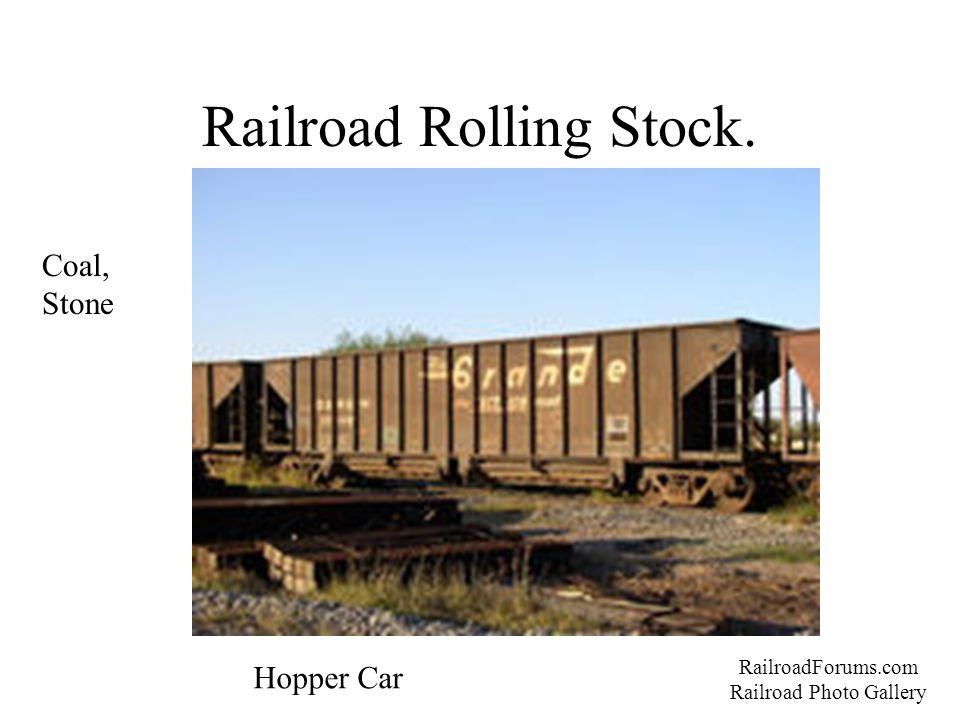 Railroad Rolling Stock. RailroadForums.com Railroad Photo Gallery Hopper Car Coal, Stone