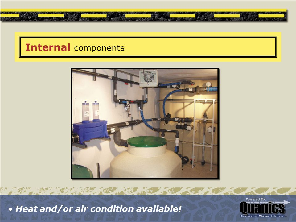 Internal components Heat and/or air condition available!