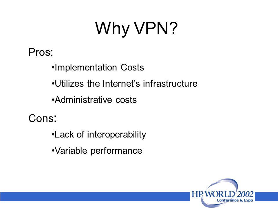 Why VPN.
