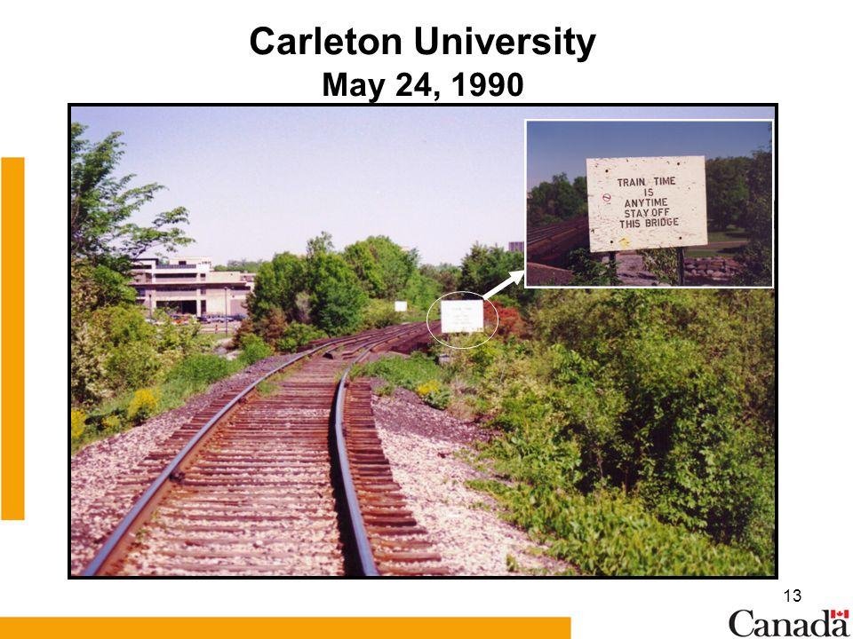 13 Carleton University May 24, 1990