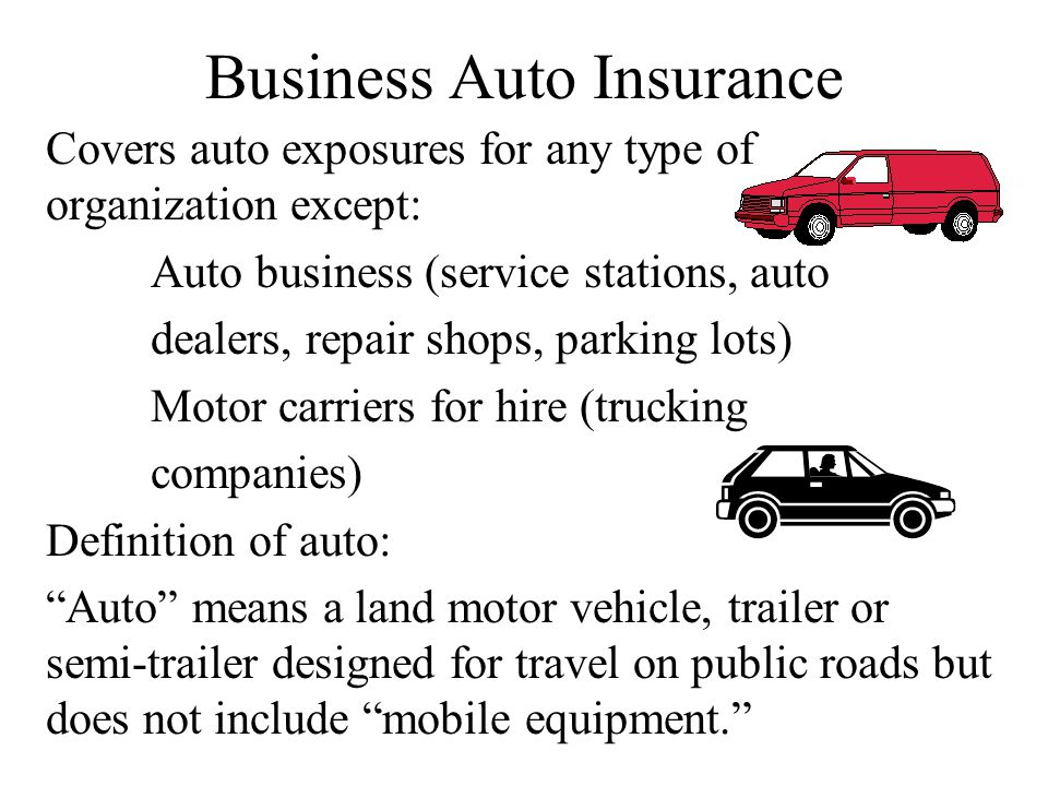 Schedule of Coverages and Covered Autos Types of coverages - Exhibit 5-1 Covered auto designation symbols - Exhibit 5-2 Trailer extension Mobile equipment extension Extension for temporary substitute autos
