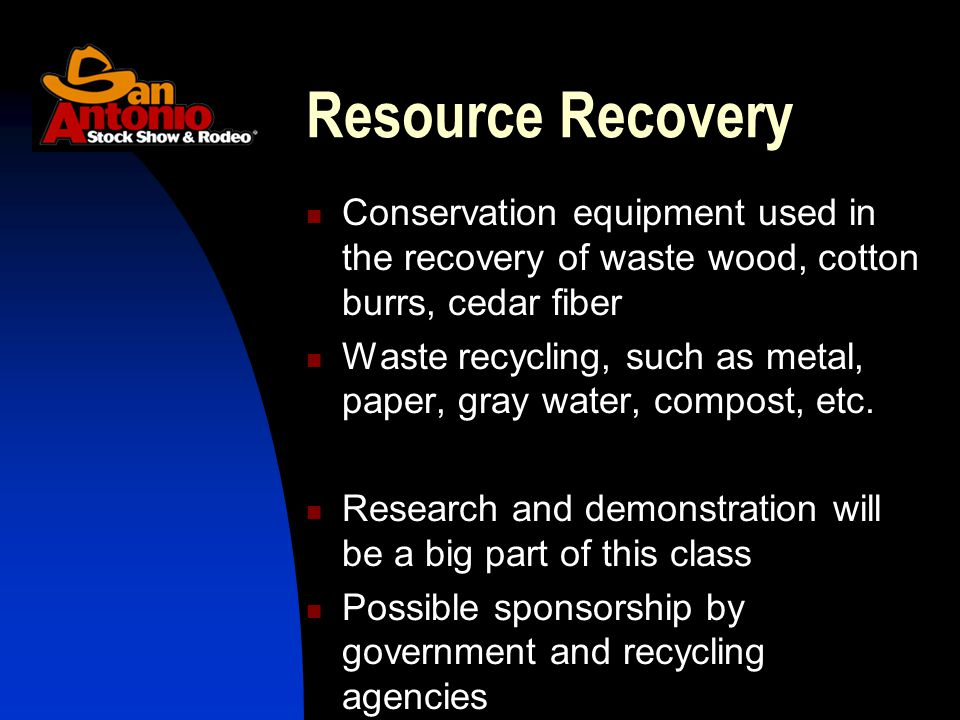 Conservation equipment used in the recovery of waste wood, cotton burrs, cedar fiber Waste recycling, such as metal, paper, gray water, compost, etc.
