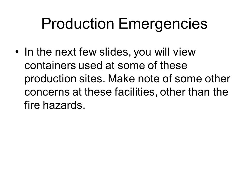 Storage This category refers to the bulk handling of fuels and hazardous materials before and after they are transported to the general geographical area of use.