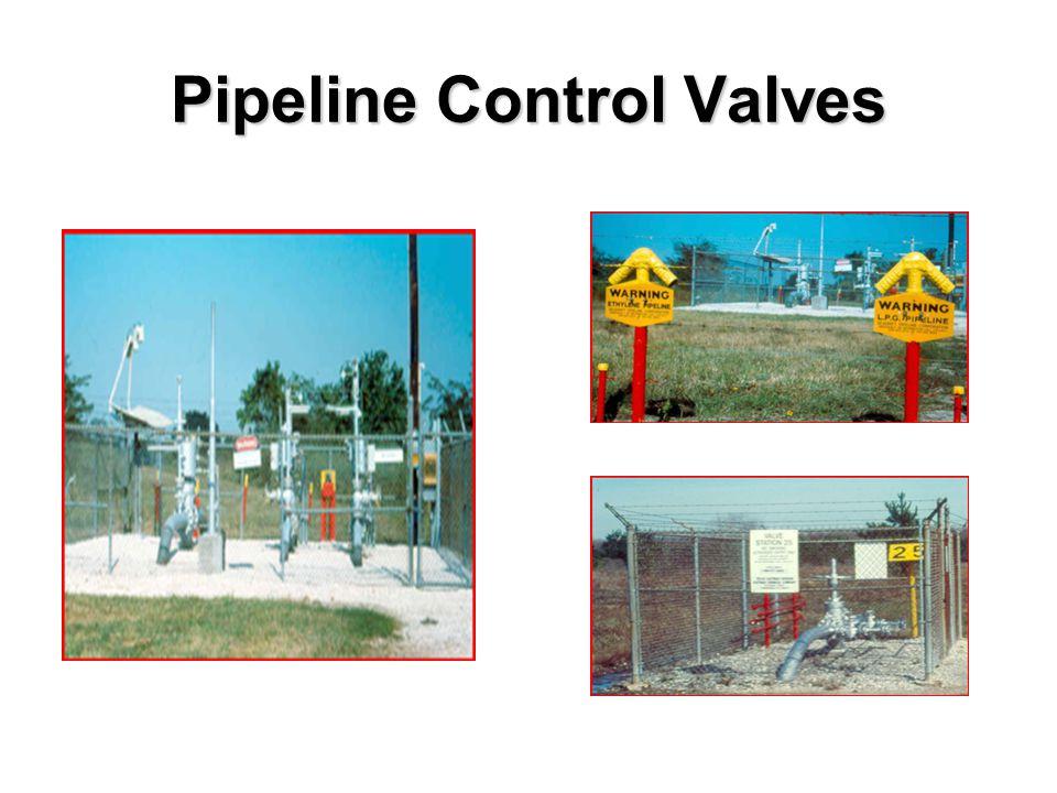 Pipeline Control Valves