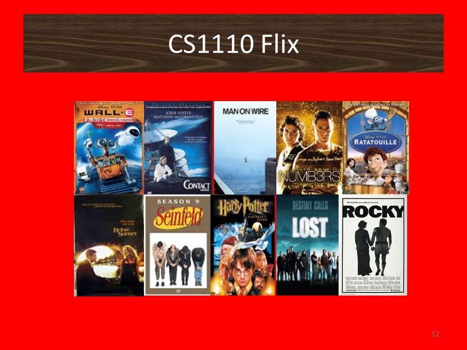 CS1110 Flix 12
