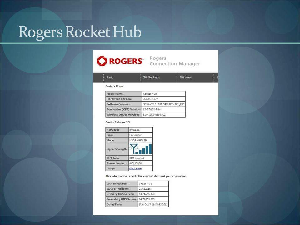 Rogers Rocket Hub