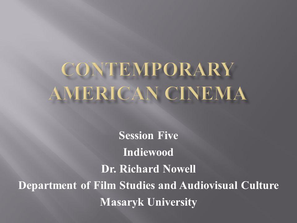 16:15 – 17:45 Rushmore (1998) 17:45 – 18:00 Break 18:00 – 19:15 Indiewood & Specialty Cinema