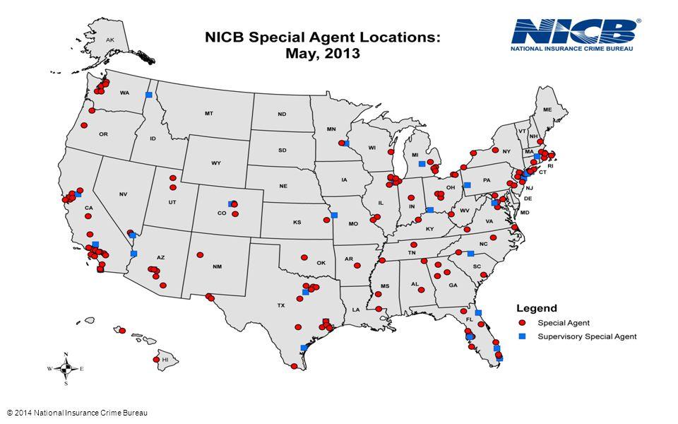 © 2014 National Insurance Crime Bureau
