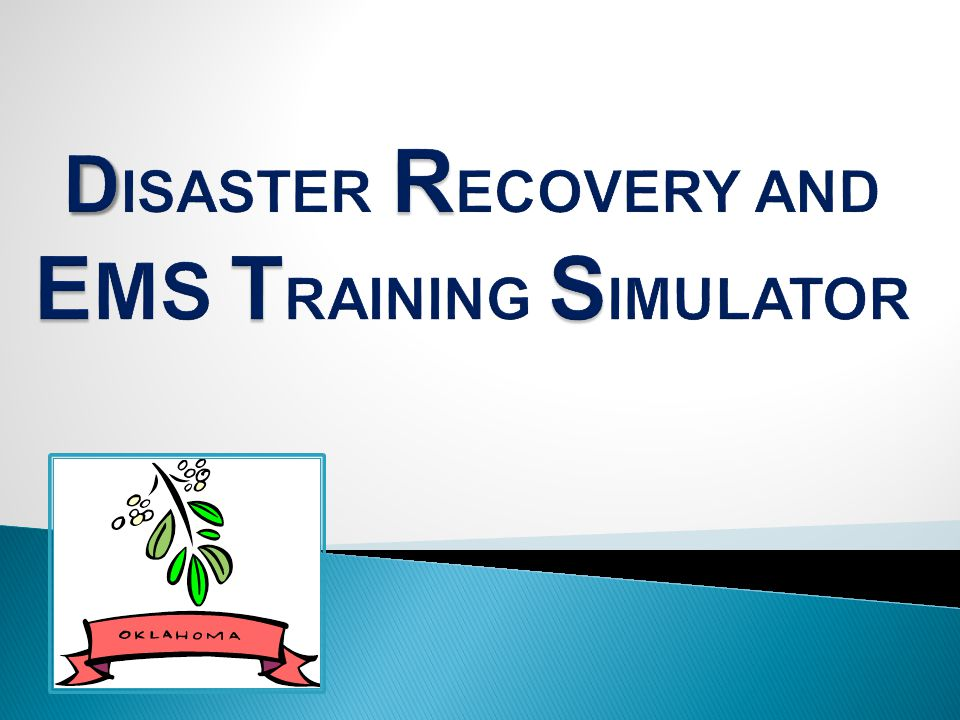 Oklahoma Department of CareerTech Kiamichi Technology Center EMS Oklahoma State Department of Health-EMS Division