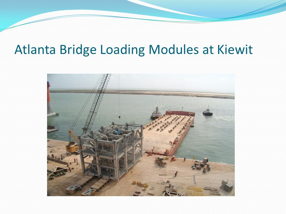 Atlanta Bridge Loading Modules at Kiewit