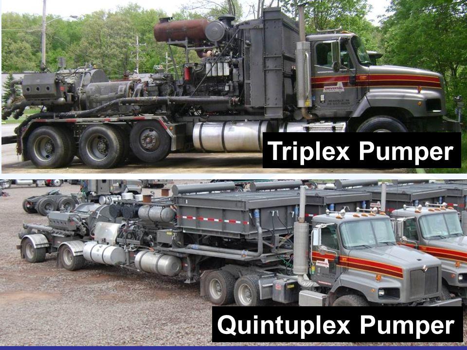 Triplex Pumper Quintuplex Pumper