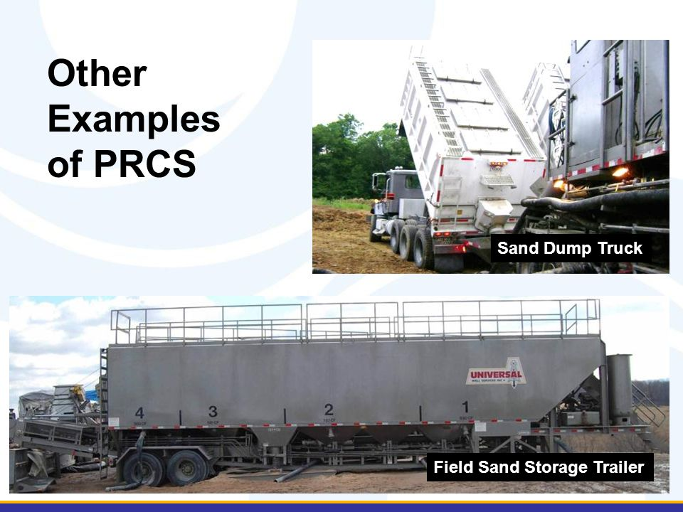 Other Examples of PRCS Sand Dump Truck Field Sand Storage Trailer
