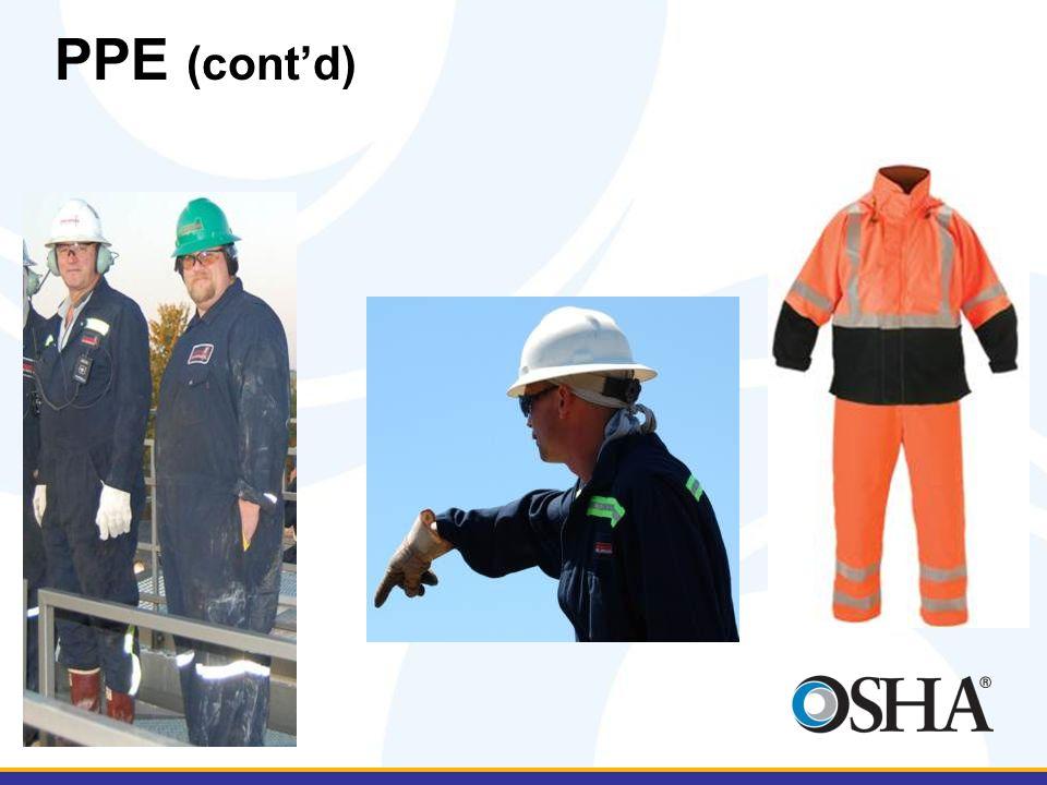 PPE (cont'd)