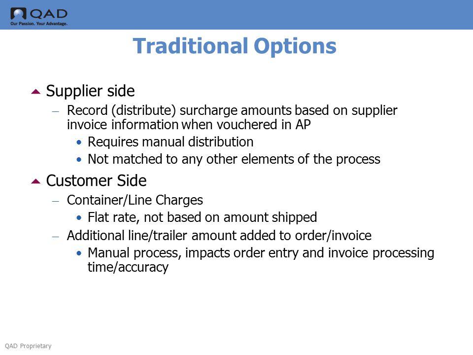 QAD Proprietary Enhanced Shipping